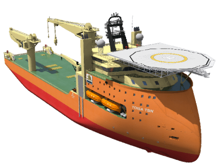 toisa offshore construction vessel