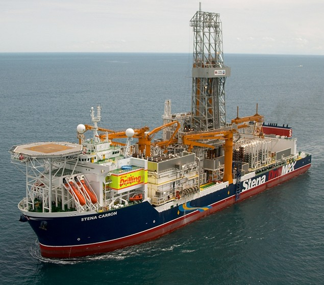 Stena carron drillship