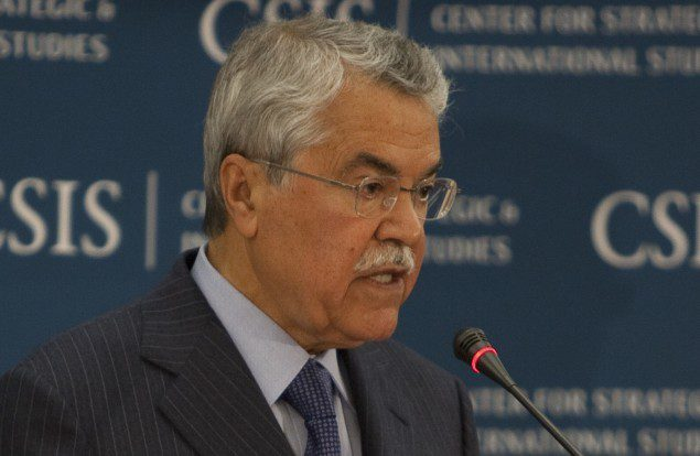 His Excellency Ali I. Al-Naimi, Minister of Petroleum and Mineral Resources, Kingdom of Saudi Arabia (c) Robert Almeida/gCaptain
