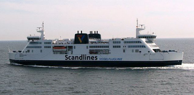 Prinsesse Benedikte scanlines ferry