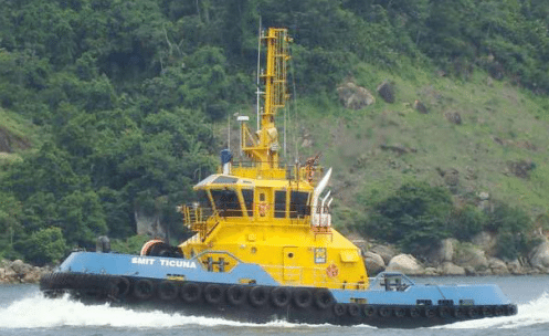 SMIT Ticuna, a 46t bollard pull harbor tug operating in Brazil. Photo: SMIT