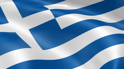 greek flag greece