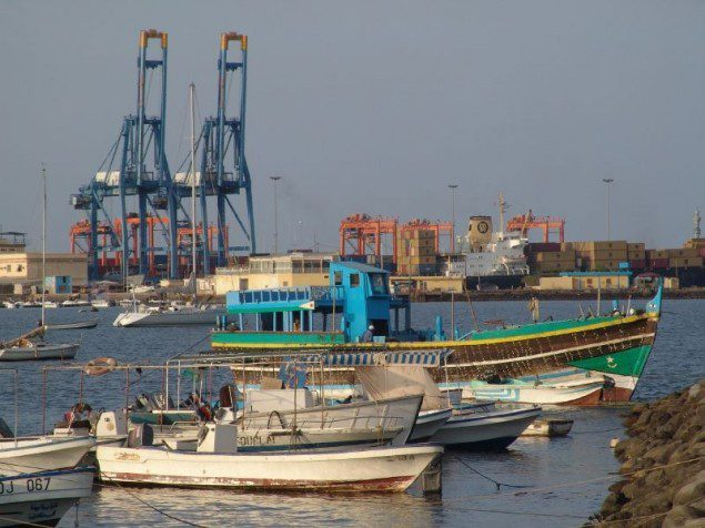 Djibouti Port. Image courtesy CharlesFred