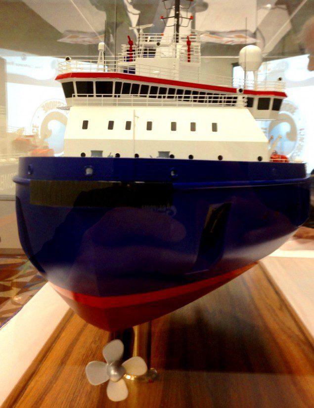 Aker Arctic ARC100HD Icebreaker