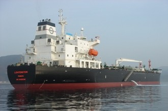 TOP Ships' oil/chemical tanker, Lichentstein. Photo courtesy TOP Ships